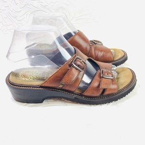 Gelron earth comfort sandals size 7.5M